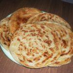 Гатлаклы (слоеная лепешка) Туркменская кухня