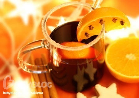 Глинтвейн с имбирем и изюмом Напитки