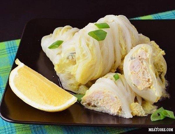 Голубцы с крольчатиной Вторые блюда Голубцы