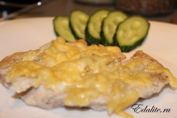 Горбуша по-французски Блюда из рыбы Вторые блюда