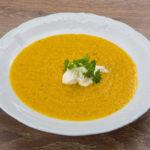 Гороховый суп-пюре с кориандром Супы