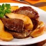 Говядина с грушами Блюда из мяса Вторые блюда
