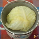 Гребешки из капустных кочерыжек Японская кухня