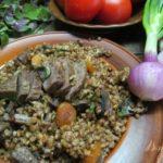 Гречневая каша с бараниной Белорусская кухня