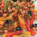 Гуммус (турецкий горох и паста из семян кунжута) Овощные блюда Турецкая кухня