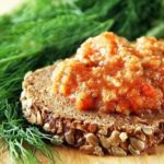 Икра из баклажанов Азербайджанская кухня