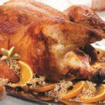 Индейка рождественская Вторые блюда Праздничный стол