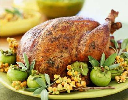 Индейка с яблоками Блюда из курицы Вторые блюда