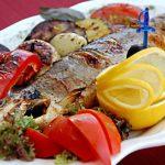 Ишхан хоровац (форель на вертеле) Армянская кухня