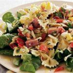 Итальянский салат с макаронами Салаты