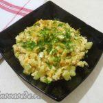 Кабачки с яйцом Армянская кухня