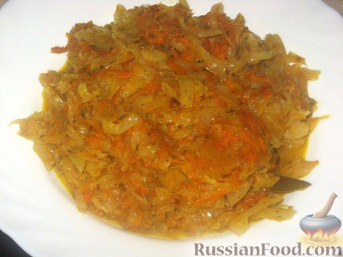 Капуста с начинкой Из капусты Из овощей
