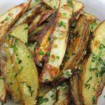 Картофель с брынзой и чесноком Из картошки