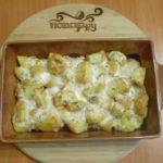 Картофель с чесночным соусом Из картошки