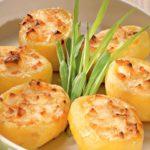 Картофель с сыром Из картошки