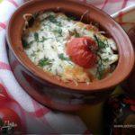 Картофель в горшочке пикантный Из картошки