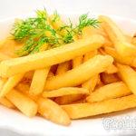 Картофель во фритюре Из картошки