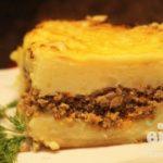 Картофельная запеканка с мясным фаршем Из картошки