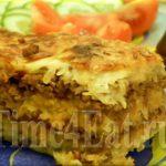Картофельная запеканка с мясом крабов Из картошки