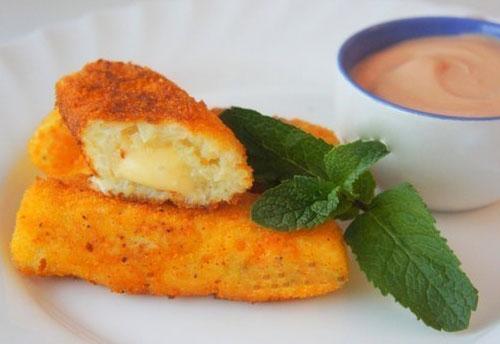 Картофельные кнедлики с сыром