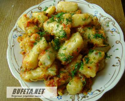 Картофельные кнедлики Из картошки