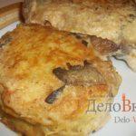 Картофельные колдуны с мясной и грибной начинкой Белорусская кухня