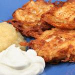 Картофельные оладьи «Латкес» на Хануку Праздничный стол