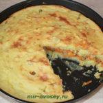 Картофельный пирог с луком Из картошки