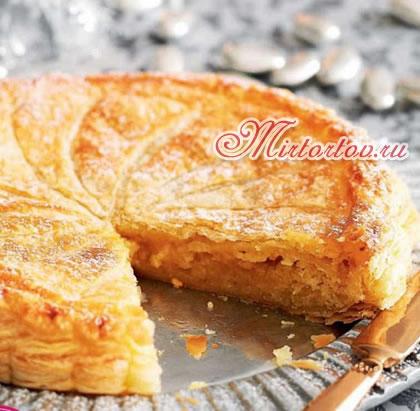 Картофельный пирог с миндалем