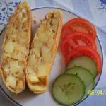 Картофельный штрудель Из картошки