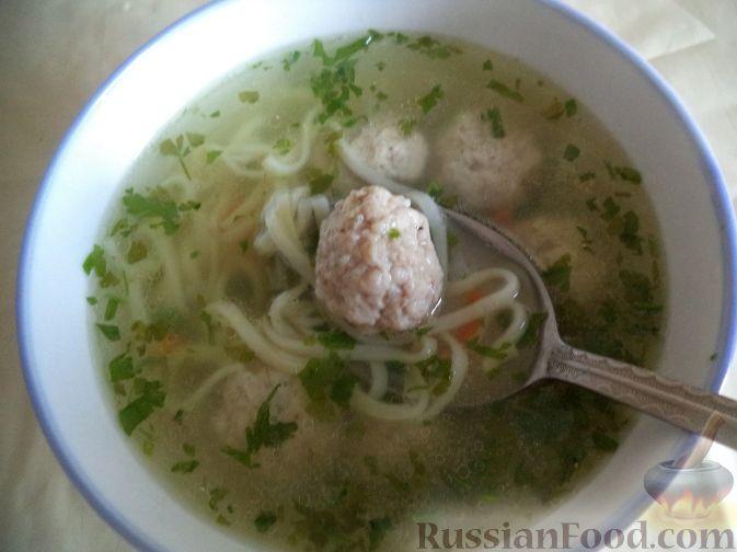 Картофельный суп-лапша