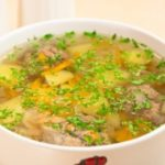 Картофельный суп по-крестьянски Из картошки