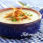 Картофельный суп-пюре с чесноком Из картошки