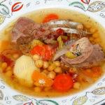 Картофельный суп с бараниной Из картошки