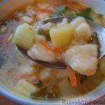 Картофельный суп с клецками Белорусская кухня