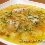 Картофельный суп с курицей и кореньями Из картошки