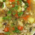 Картофельный суп с перловой крупой Из картошки