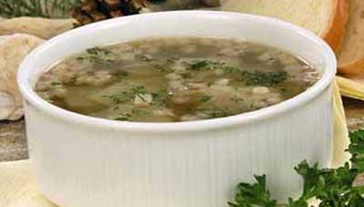 Картофельный суп с соей Из картошки
