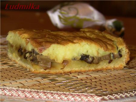 Картофельный торт с творогом Из картошки