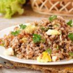 Каша с яйцами Крупяные блюда Турецкая кухня