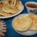 Катлама (слоеные лепешки) Таджикская кухня