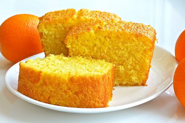Кекс «Апельсиновый» Выпечка Кексы