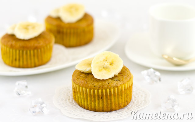 Кексы «Банановые»