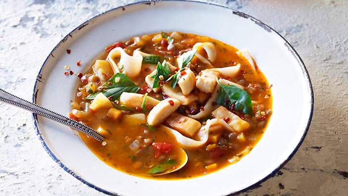 Кесме (суп) Киргизская кухня Супы