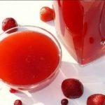 Кисель из варенья и красного вина Молдавская кухня Напитки