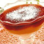 Кисель многослойный из клюквы и черники Напитки Русская кухня