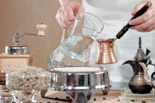 Кофе мокко по-турецки Напитки Турецкая кухня