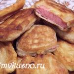 Колбаса, жаренная в тесте Закуски