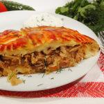 Комовики (картофельные пирожки с начинкой из круп или фасоли) Белорусская кухня