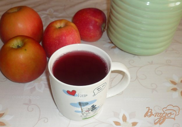 Компот яблочно-вишневый